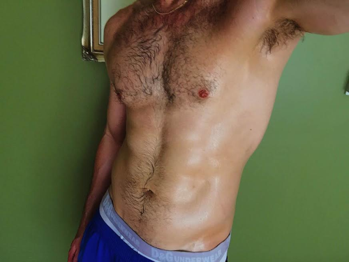 hairy, handsome, chest, gay