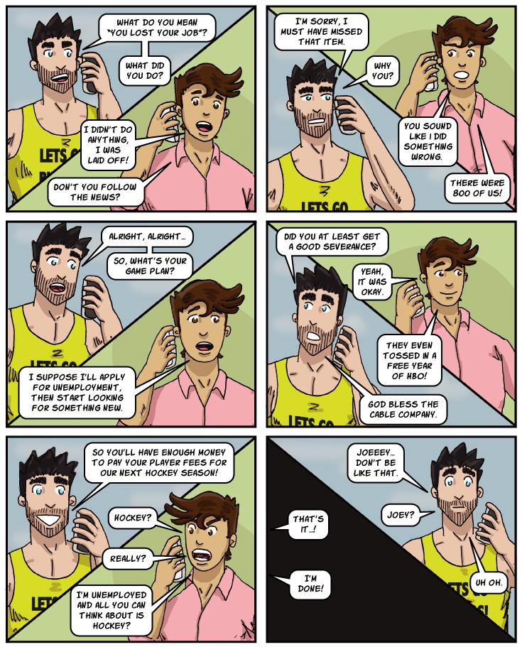 Gay Cartoon Gay Comic Strip