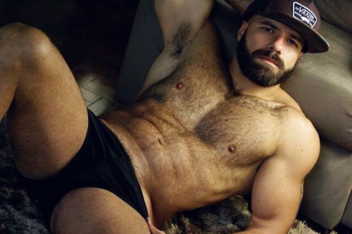 handsome, hunk, muscles, beard, pecs, sexy