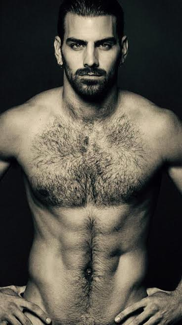 Nyle DiMarco, #NyleANTM, hairy, handsome, hunk, furry friday