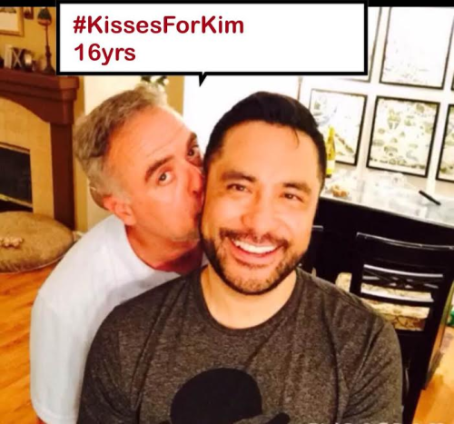 Kisses for Kim 16 years