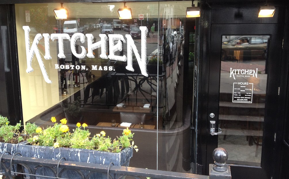 "kitchen in south end is now a ""new england seafood"" restaurant"