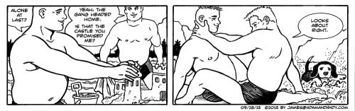 gay cartoon, gay comic strip