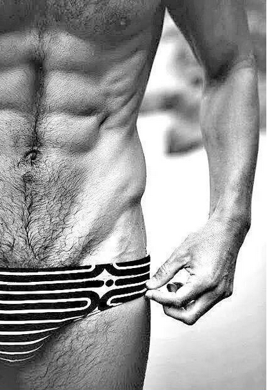 abs, muscles, hairy