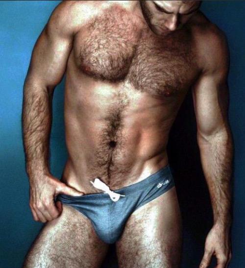 handsome, hairy, hunk, blue, speedo