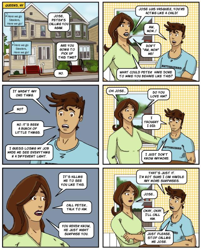 Gay Comic Gay Cartoon