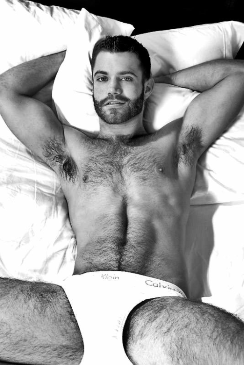hairy chest, underwear, handsome, hunk