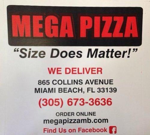 mega pizza south beach