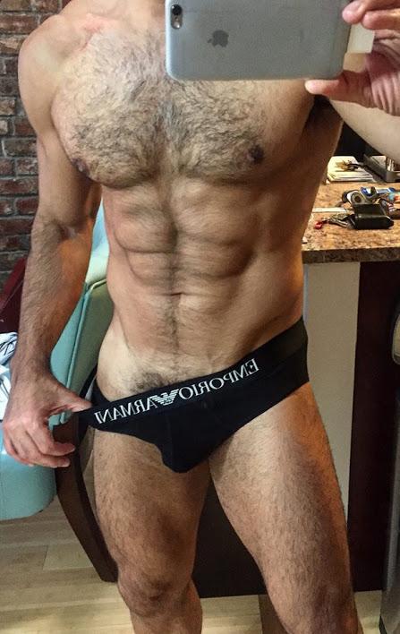 hairy, handsome, underwear, abs