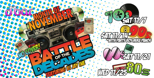 dbar battle of the decades