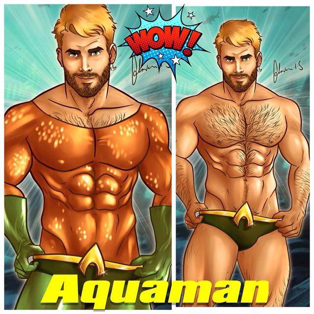 Free Gay Superhero 51