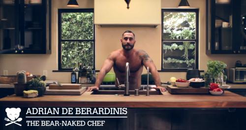 Adrian De Berardinis, cooking