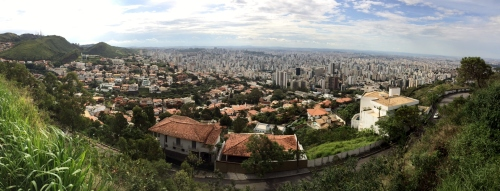 View of Belo Horizonte, Brazil looking Northwest