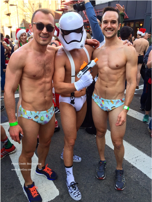 Boston Santa Speedo Run 2015 iii