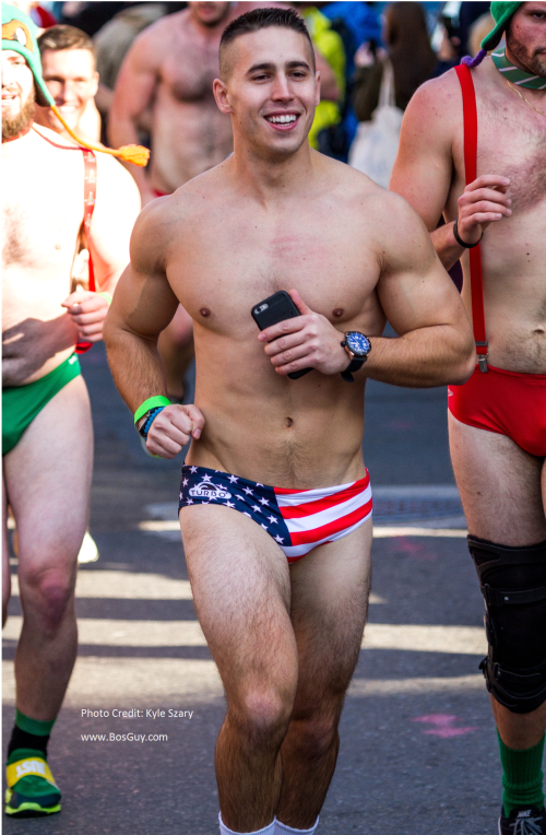 Boston Santa Speedo Run 2015 KS ii