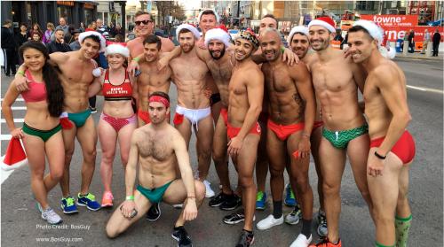 Boston Santa Speedo Run 2015 vi