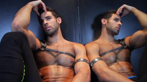 leather, handsome, hunk, muscles, temptation tuesday