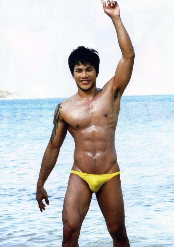 Asian male speedo