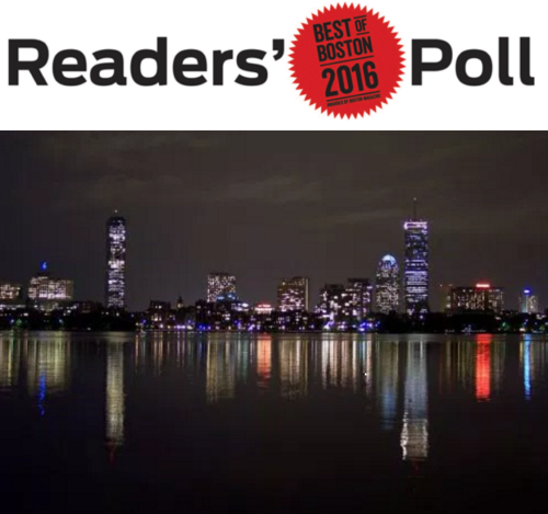 Best of Boston Readers Poll Boston Magazine 2016