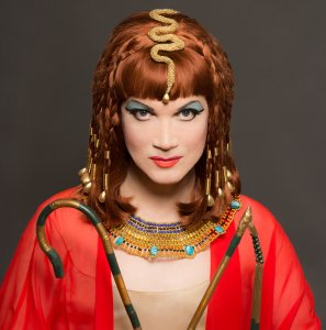 Charles Busch as 'Cleopatra' courtesy of David Rodgers