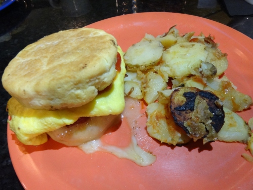The Friendly Toast Back Bay Breakfast Sandwich $10.00