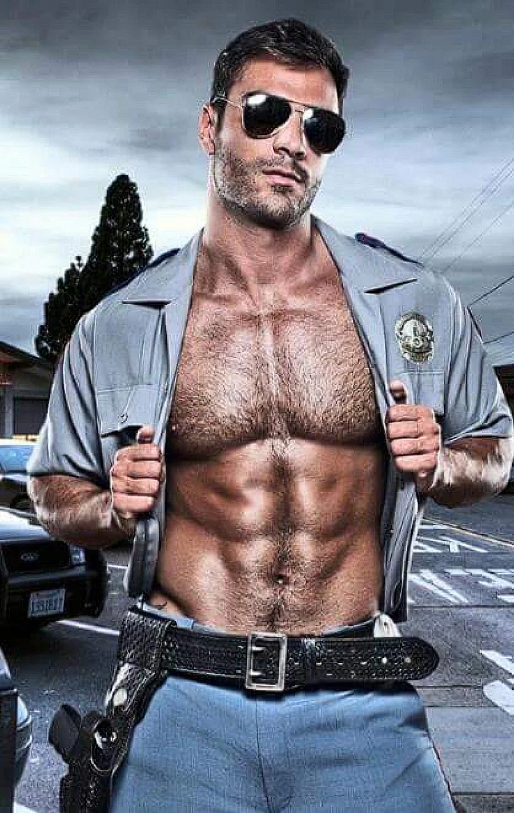 Gay man police hunks we made him determined