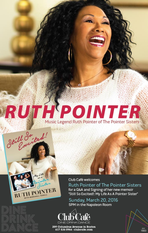 Ruth Pointer at Club Cafe in Boston