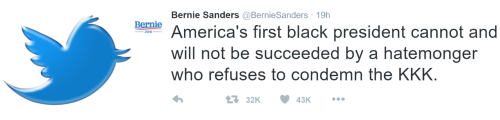 Tweet of the Day Bernie Sanders