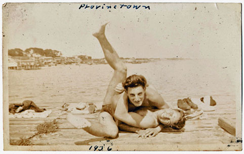 """in love in provincetown, 1936"" source: woolfandwilde.com"