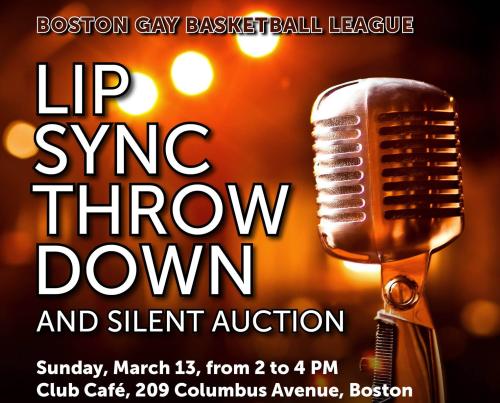 Boston Gay Basketball League Lip Sync Throw Down