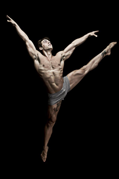 male ballet dancer A