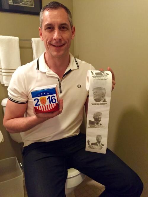 Donald Trump toilet paper