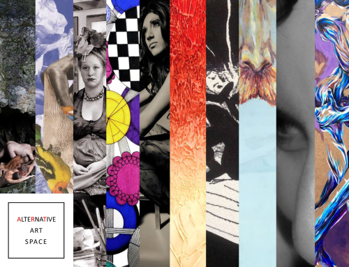 Participating artists featured in the image above include from left to right Izzy Berdan , Sisterswex , Thomas Reale, Ashley Lucas , Roneil Smith, Fernando DeOliveira , Aleks Banner, Rachel Schwemin, Pilar Quintana, Joshua Wilmoth.
