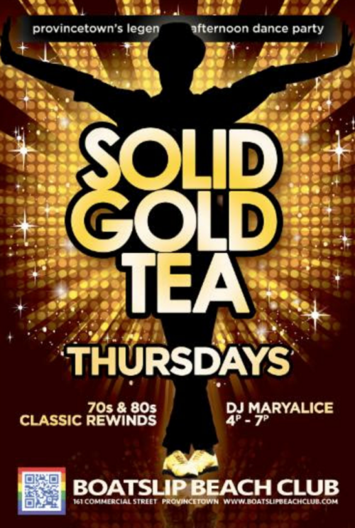 Boatslip Tea Dance Thursdays