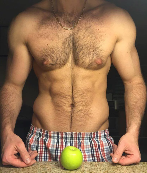 hairy, muscles, hunk