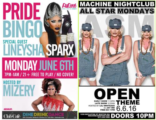 Boston Pride Monday Night