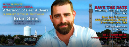 Brian Sims Bear Week in Provincetown