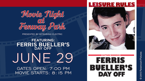 Ferris Bueller at Fenway Park