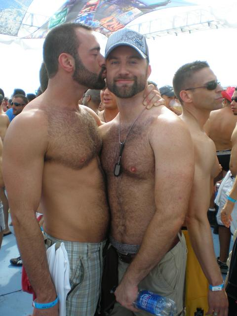 Hairy gay men