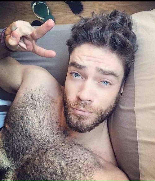 hairy, handsome, hunk