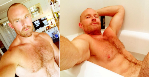 handsome, hunk, hairy
