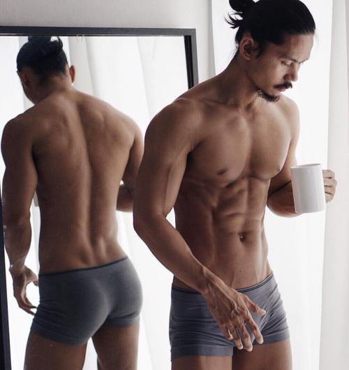handsome, hunk, boxer briefs, underwear