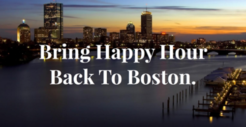 Bring Back Happy Hour to Boston