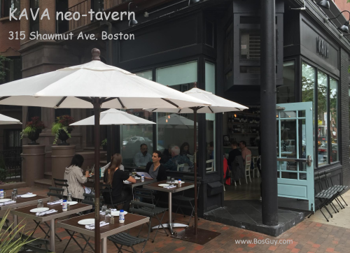 Kava Neo Taverna South End Boston