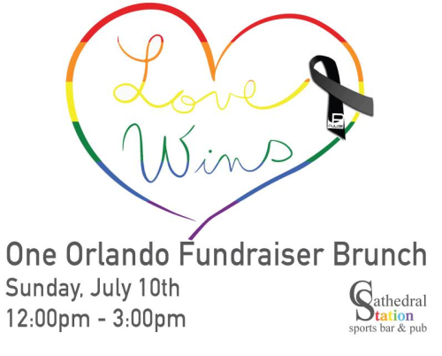 Love Wins Orlando Brunch at Cathedral Station