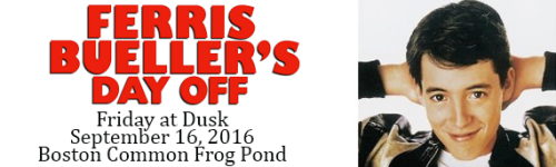 Ferris Buellers Day Off on Boston Common Frog Pond