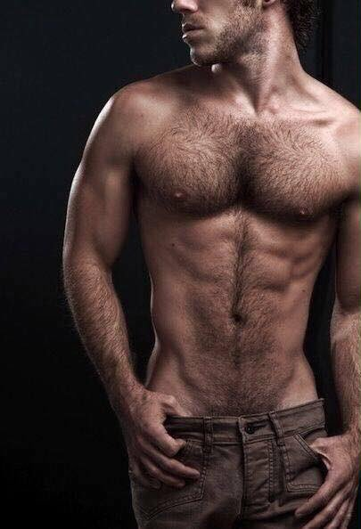 hairy, furry, muscles