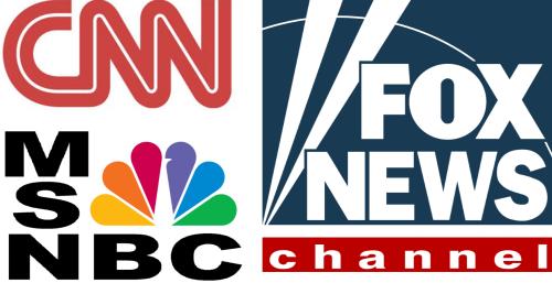 FOX, CNN, MSNBC