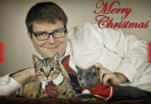 holiday humor, christmas photo