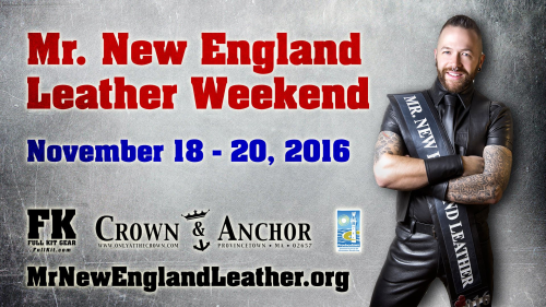 Provincetown presents Mr. New England Leather Weekend